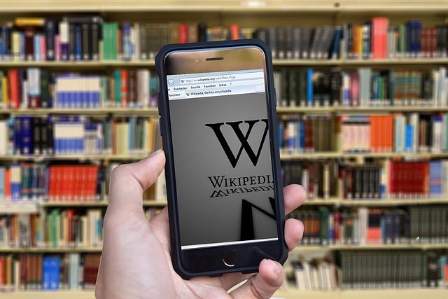wikipedie v mobilu