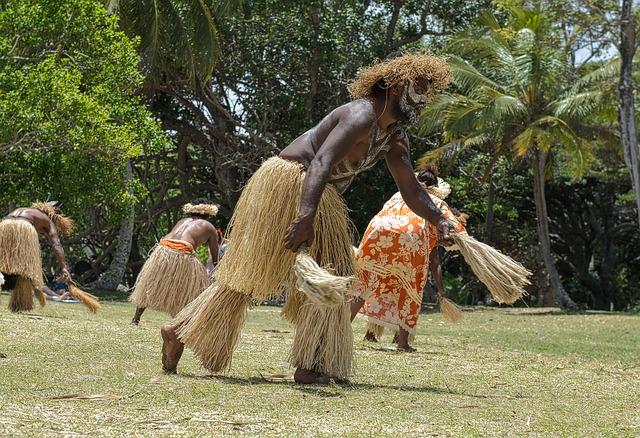 tanec domorodců