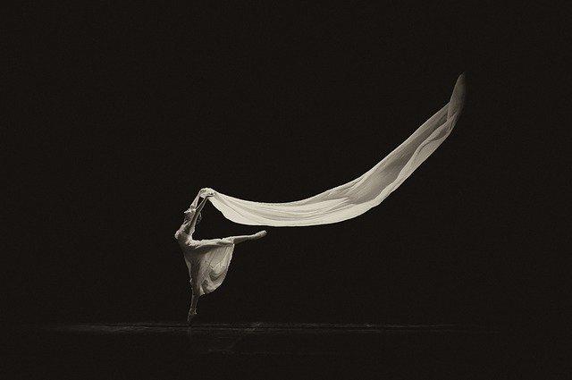 baletka se závojem